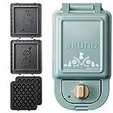 BRUNO Hot Sand Maker + Waffle Plate 2 Kinds Plate Set (Moomin, Single)