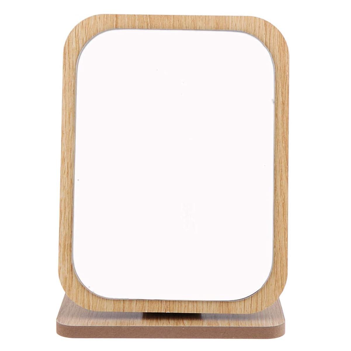 中毒お勧めベックスPerfeclan 全6サイズ 化粧鏡 卓上ミラー メイクアップミラー 木製フレーム 折りたたみ - #5