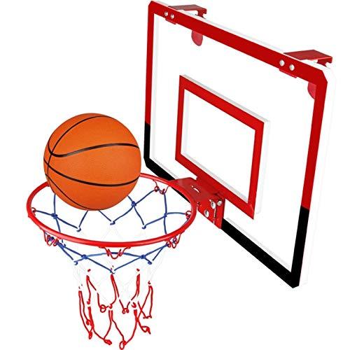 Juego Combinado De Tablero Y Borde Inastillable De 18 Pulgadas, Marco De Baloncesto para Jóvenes para Interiores Y Exteriores, Bastidores De Baloncesto para Niños Colgantes, Mini Tablero De Baloncest