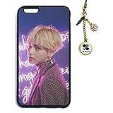 Fanstown Kpop BTS Bangtan Boys iPhone6PLUS/iPhone6sPLUS case Wings + Dust Plug Charm (D16)