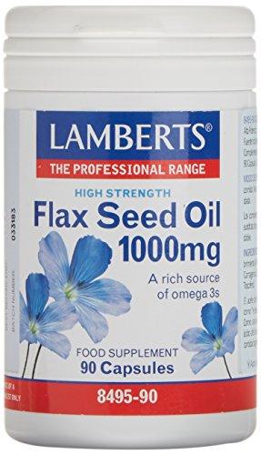 Lamberts Aceite de Semillas de Lino 1000...