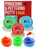 3 Pack of Putty Stress Relief Toys - 1.7 Ounce (50 gr) x