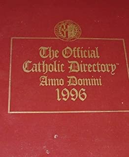 The Official Catholic Directory Anno Domini 1996