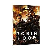 ZZBN Filmposter Robin Hood, dekoratives Gemälde, Leinwand,