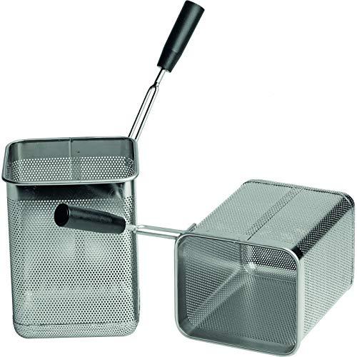 Panier pour Machine à Pâtes 2 x GN1/6 - Lot de 2 - Stalgast - Inox
