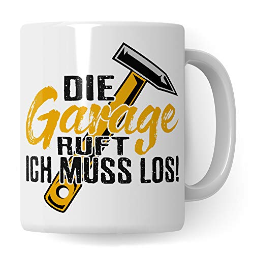 Pagma Druck Tasse Handwerker & Heimwerker, Geschenk für Ehemann Basteln Hobby Becher, Werkstatt Garage Schreiner Tischler Zimmerer Handwerk Kaffeetasse