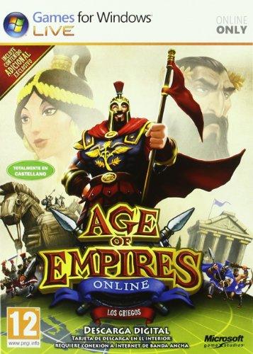 Microsoft Age of Empires Online, 1u, DVD, SPA
