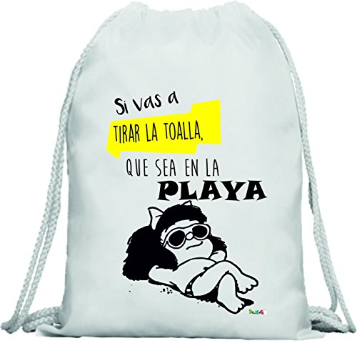 DrMugCollection Mochila Mafalda Toalla