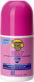 Banana Boat Baby Very High Protection Roll On Sunscreen SPF 50+ 75ml
