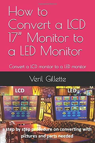 """How to Convert a LCD 17"""" Monitor to a LED Monitor: Convert a LCD monitor to a LED monitor"""
