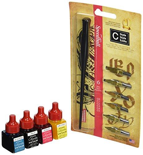 Dr. Martin calligraphy die set color pen (japan import)