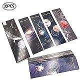 Set di 30 segnalibri per pagine con design speciale a pianeta, per bambini, donne, uomini, carta, libri, marcatori, scuola, studenti, premi, aule e forniture per ufficio