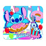 Stitch Pattern Cartoon Mousepad Anti-Slip Comfort Mouse Pad (9.25 X7.8inch) Tracking for Gaming Office Home