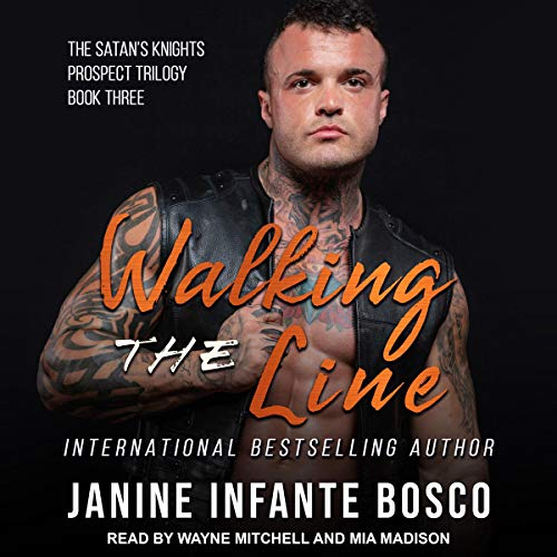 Walking the Line Audiobook By Janine Infante Bosco cover art