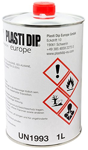 Plasti Dip Verdünner 1L lang ablüftend - empfohlen für Original Performix Plasti Dip USA