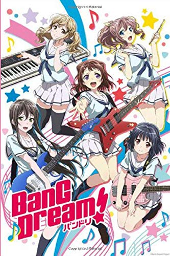 BANG DREAM!: Anime School Boy, Blank Lined Journal Notebook, Perfect Gift For Boy, Girl, Otaku & Anime Lovers