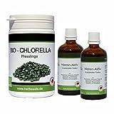 Nieren- Aktiv Intensivkur Konzentrat 2 x 50ml nach Dr. Hulda Clark + 200g Chlorella