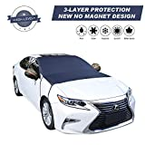 Cypropid Car Windshield Snow Cover, 3-Layer Protection and Double Side Design, Keep Snow &...