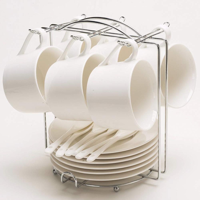 La Tasse de café la Tasse de café de céramique Plaque européenne Scoop mis Ensemble,g