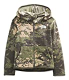 The North Face Toddler Glacier Full Zip Hoodie, New Taupe Green Tonal Cloud Camo Print, 4T