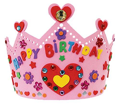 Blancho Handmade Sun Hat Birthday Hat Crown Nursery EVA Enfants Hat Creative