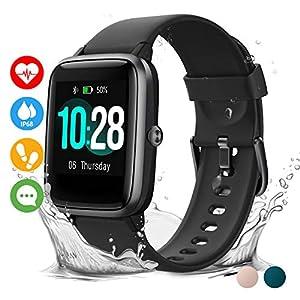 Vigorun Reloj Inteligente Pantalla Táctil Smartwatch para Hombre Mujer