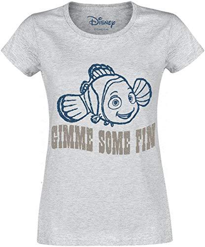 2X Camiseta Azul y Gris t-Shirt Nemo Disney