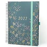 Boxclever Press Life Book Familienplaner Kalender 2021 2022 A5. Schülerkalender 2021 2022 von August '21 bis Dezember '22. Kalender 2022 A5 mit 7 Spalten. Wochenplaner für viel beschäftigte Menschen.