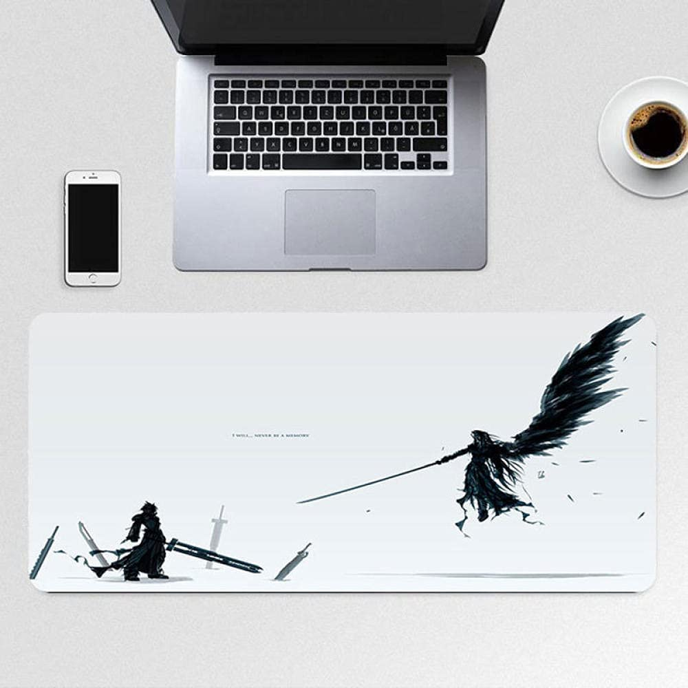 Final Fantasy Anime Tampa Mall Mouse pad Outlet ☆ Free Shipping 900x400x3mm Large Gamin Non-Slip