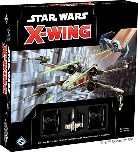 Star Wars X-Wing 2.0 - Asmodee - Jeu de société - Jeu de plateau - Jeu de figurines