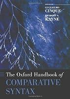 CINQUE : THE OXFORD HANDBOOK OF COMPARAT SYNTAX (Oxford Handbooks in Linguistics)