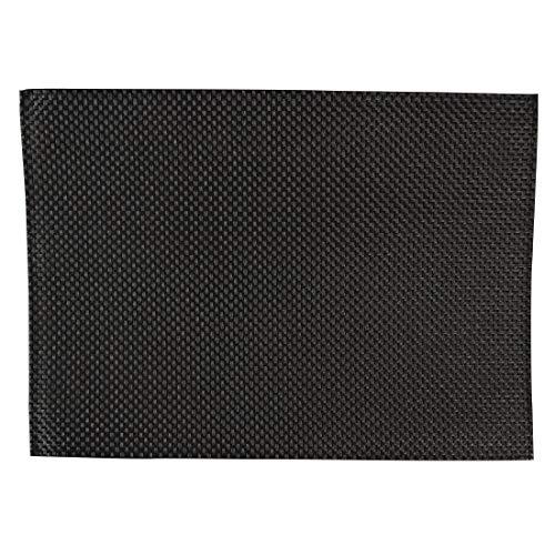 APS gj992 PVC Set de table, noir (Lot de 6)