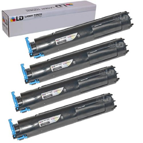 LD Compatible Toner Cartridge Replacement for Canon GPR22 0386B003AA (Black, 4-Pack)
