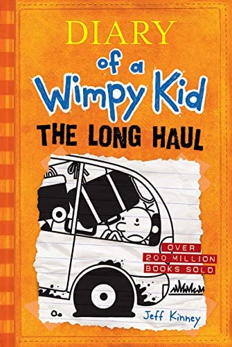 The Long Haul Diary of a Wimpy Kid 9 product image
