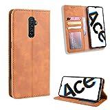 SWMGO® Flip Brieftasche Hülle für Oppo Realme X2