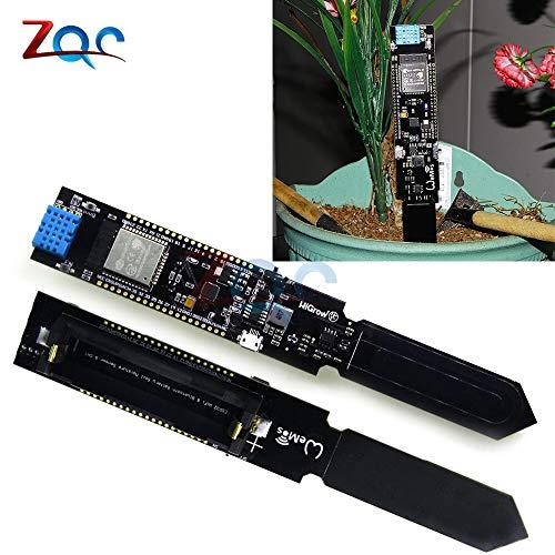 ESP32 CP2104 WIFI Bluetooth DHT11 Temperatur Feuchte BodenFeuchte Sensor Erkennungs Modul für Arduino 18650 Akku-Schild