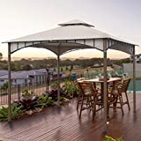 AsterOutdoor 10x10 Gazebo for Patios Outdoor Canopy for Shade and...