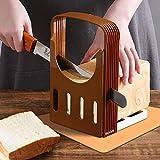Cortador de pan para pan casero diseño plegable 30/24/20/15 mm de espesor opción de rebanada