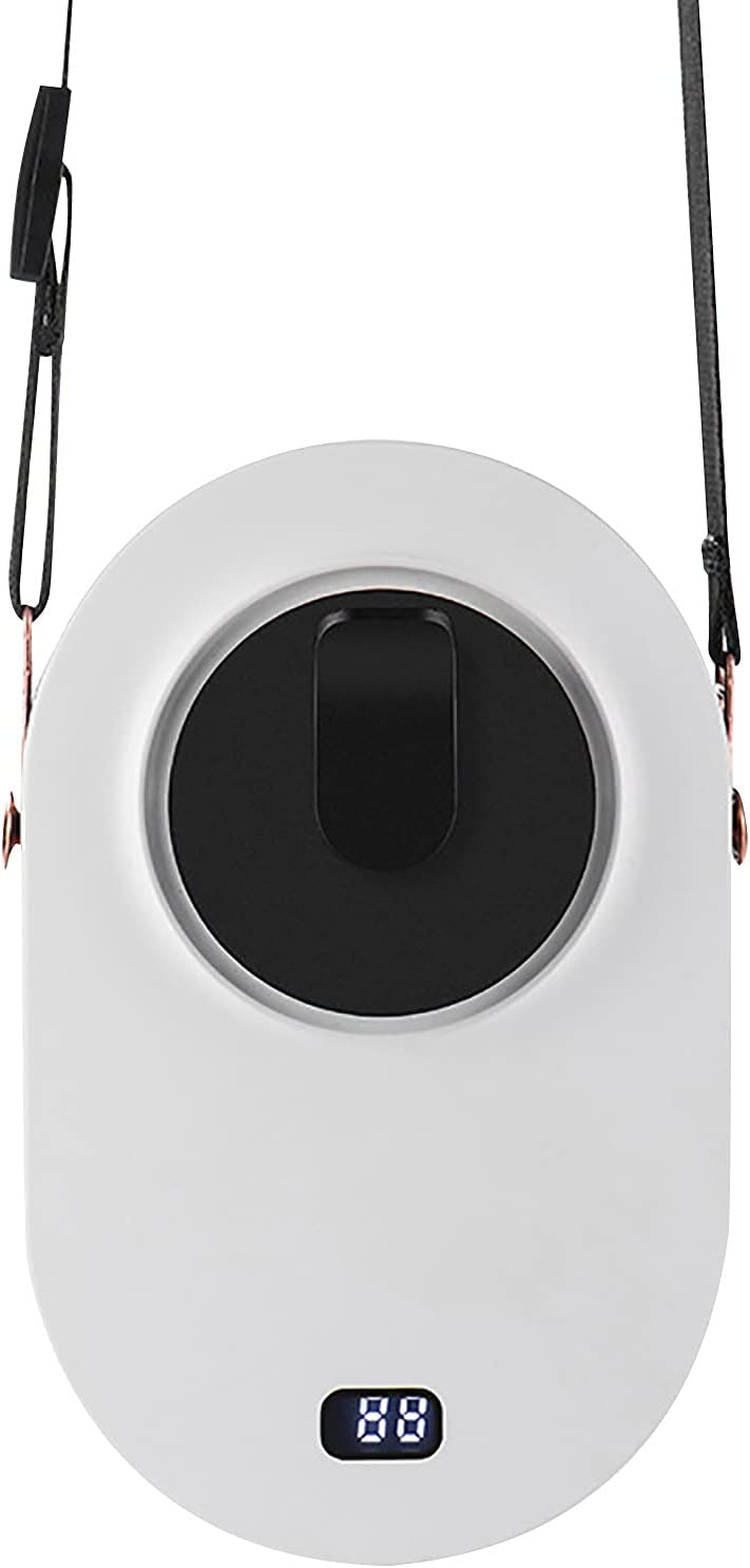 W Max 77% OFF B Personal Necklace Fan with Hanging Rechargeable Portable Max 68% OFF Adj