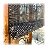 WENZHE Estores de Bambú Venecianas Persiana Enrollables, Ventilación Filtro Luz Intimidad Pantalla, Usado para Interior Exterior Dividir Decoración, Personalizablec