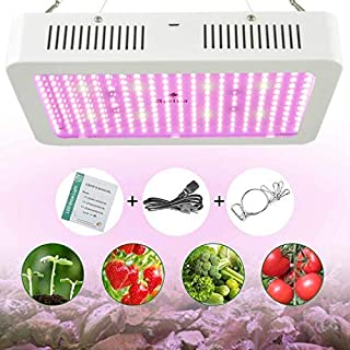 LED Grow Light 2000W, Vander Full Spectrum Led Light Hanging Lamp for Greenhouse Hydroponic Indoor Plants Growing Vegetables and Flowers