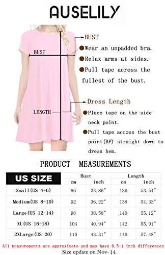 AUSELILY Women's Long Sleeve Casual Lo   ose Pocket Maxi Party Long Dresses with Pockets (L, Wine Red)