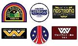Ti El Es Nostromo Weyland Yutani Corp Sulaco Alien, Aliens Aufkleber, 6 Laminiert Sticker Set