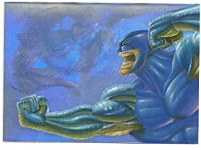 Marvel Flair Annual Holoblast Card #1 of 12 WOLVERINE vs. CYBER