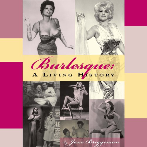 Burlesque audiobook cover art
