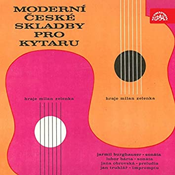 Contemporary Czech Works for Guitar