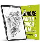 Ringke Paper Touch Film Soft Compatibile con iPad Pro 12.9 (2021/2020/2018) Pellicola Effetto Carta Protezione Schermo - 2 Pezzi