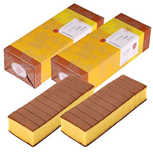 長崎心泉堂 長崎カステラ 幸せの黄色いカステラ 10切カットタイプ 560g×2本セット