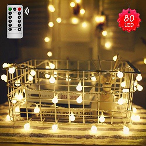 LED Stringa Catene Luminose BINKEN Illuminazione per Attaccatura e Decorazione