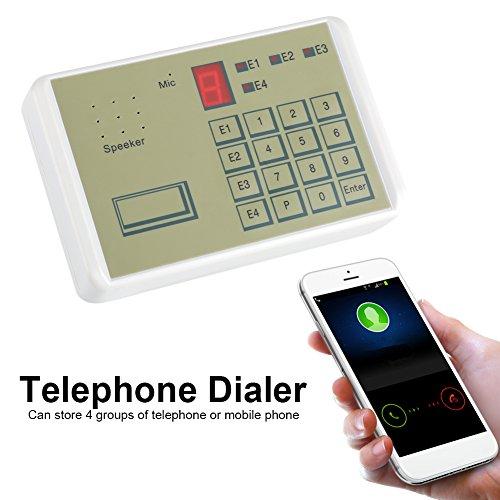istema de Alarma de la Casa de Seguridad Contra Robo Automático de Voz de Teléfono Alámbrico